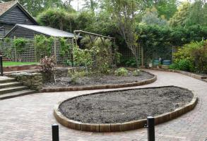 Wheelchair friendly garden 2