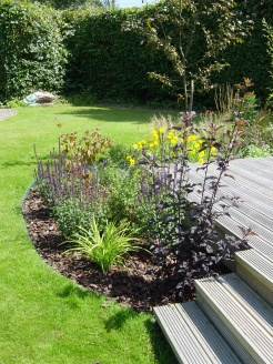 Cottage style planting